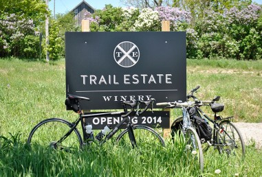 Trail Estate sign