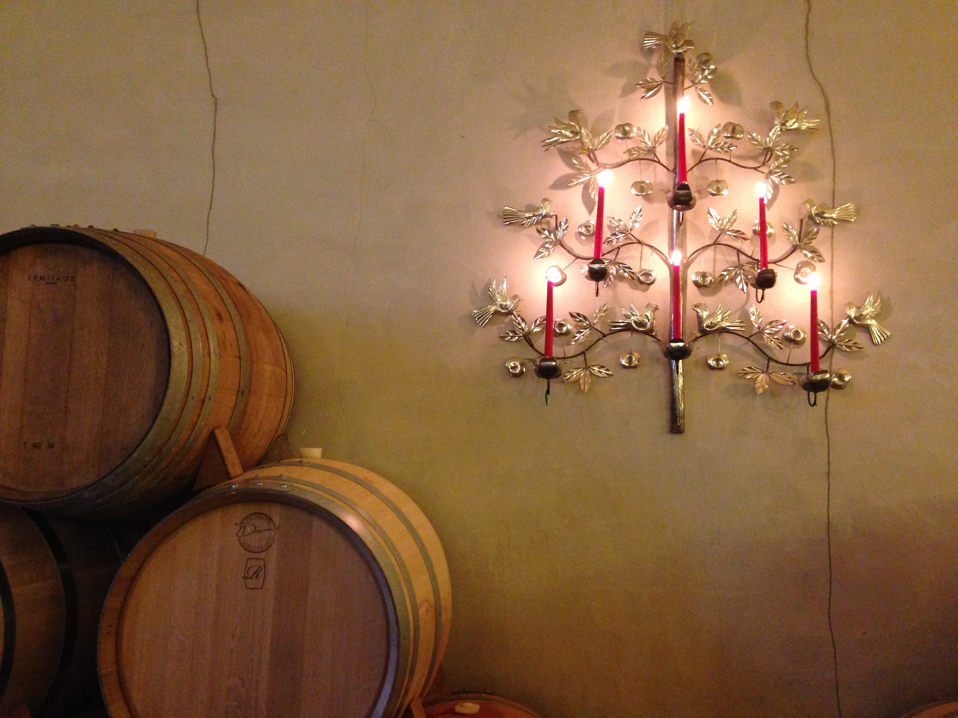 Decorations at Stanners Vineyards